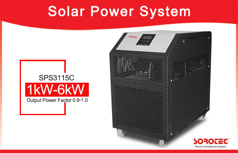 China Low Frequency 3kW 230VAC Solar Power Inverter With 60A MPPT Solar Charge Controller factory