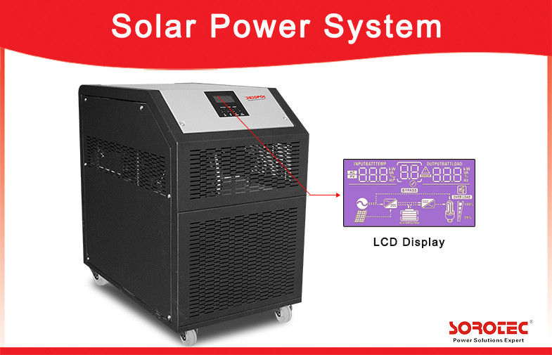 China 6kW Pure Sine Wave Solar Power Inverter System With LCD Display 230VAC 50 / 60Hz factory