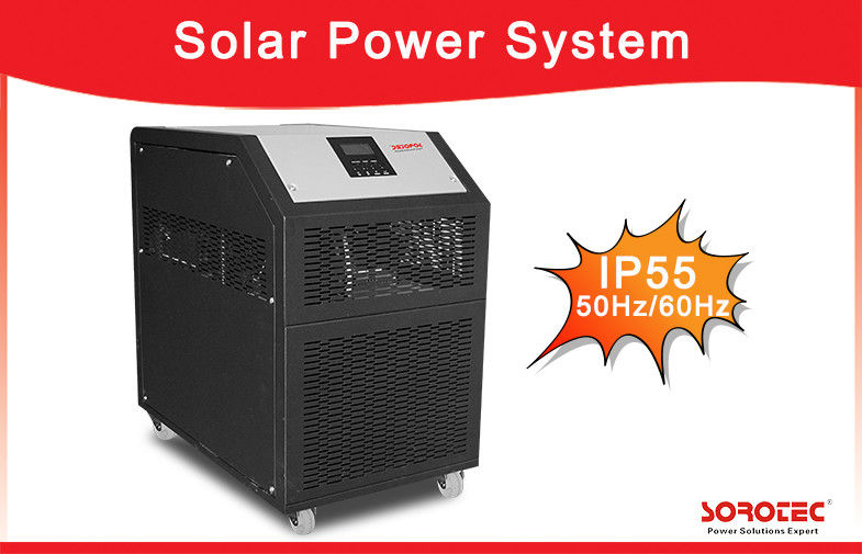 China 5kW Factor 0.9-1.0 Off Grid Solar Power Systems Built-in MPPT Solar Controller factory