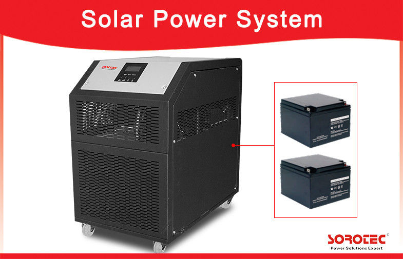 China 1-6kW All-in One Off Grid Solar Power Systems 24V / 48V Solar Inverter For Household Appliances factory