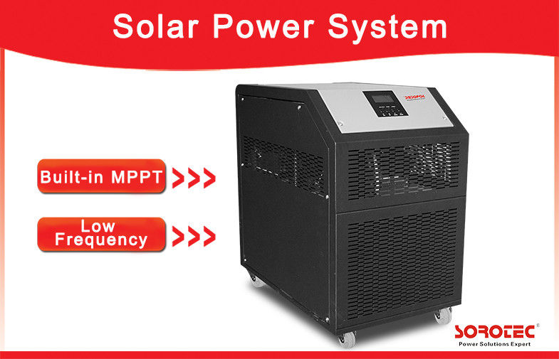230VAC 3kW Off Grid Solar Power Systems ,  48V Solar Power Inverter Built-in Battery / Transformer supplier