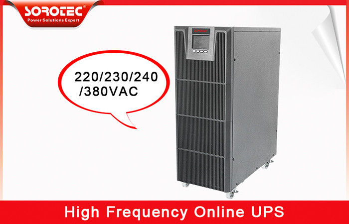 China Telecom Pure Sine Wave UPS Battery Voltage Can Be Choice Efficiency up to 93.5 % factory