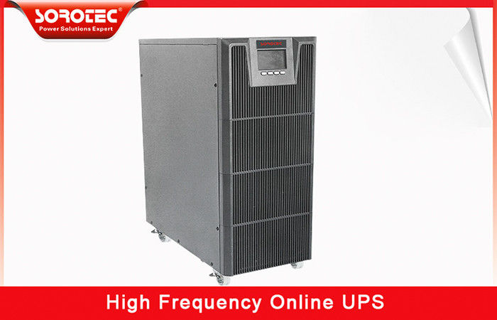 ECO mode High Frequency Online UPS efficiency up to 98% , 3 phase ups Factor 0.9 supplier