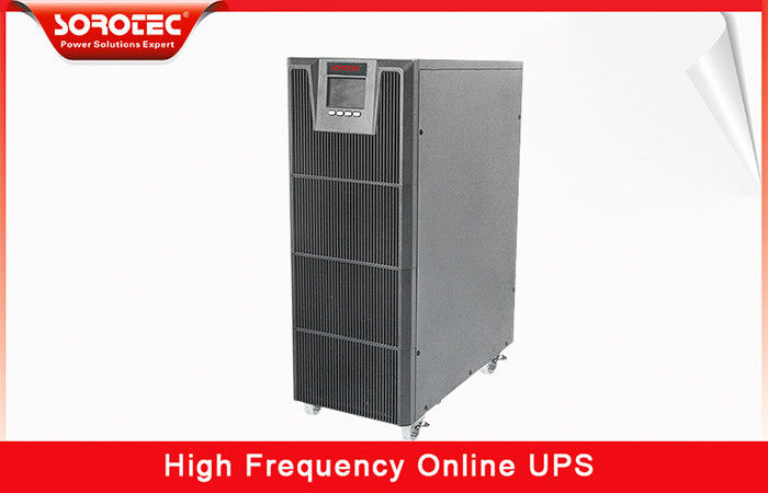 China 1-20KVA high frequency ups Large LCD display and Intelligent Battery Monitors factory
