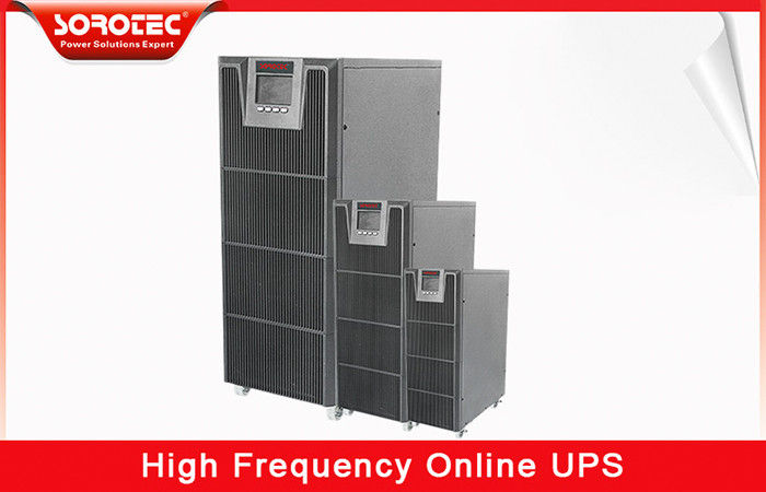 DSP Technology High Frequency Online UPS 10-20KVA with Pure Sine Wave , Digital Control supplier