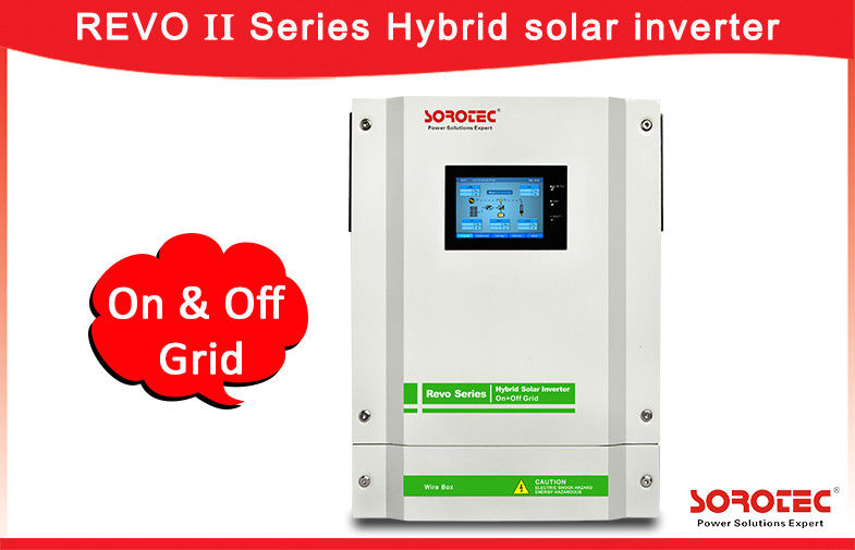 China Hybrid PV Inverter / Hybrid Solar  power Inverters Language And Time Setting factory