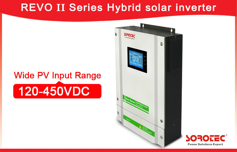 China Independent Grid Hybrid Solar Power Inverter / Solar Grid Tie Inverter Battery Connected factory