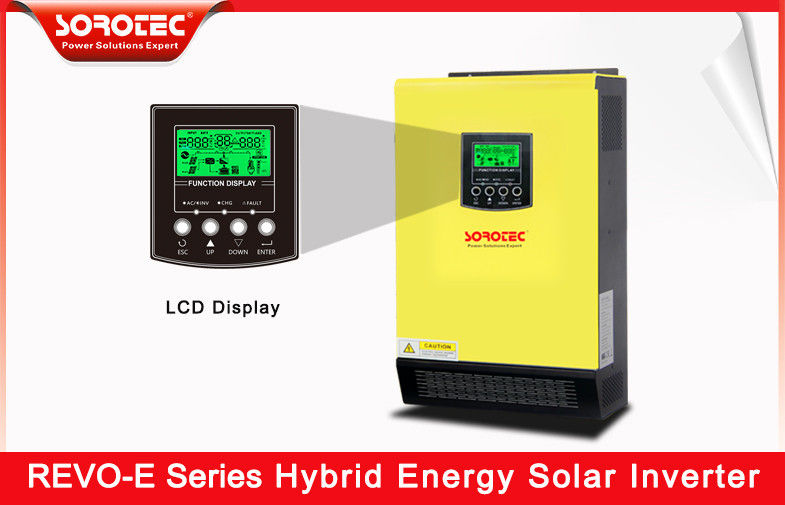 Solar Power Hybrid Pure Sine Wave Inverter 3KW With Wide Input Range 120-450VDC