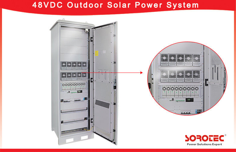 High Reliability Telecom Solar Power Systems 50A Surfce Coating Anti - UV supplier