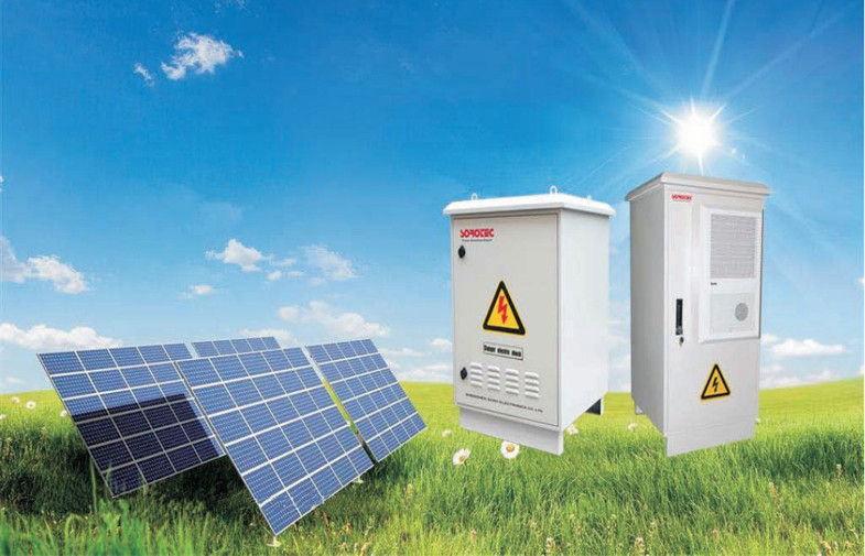 IP55 Outdoor solar UPS Power Inverter / Pure sine wave inverter supplier