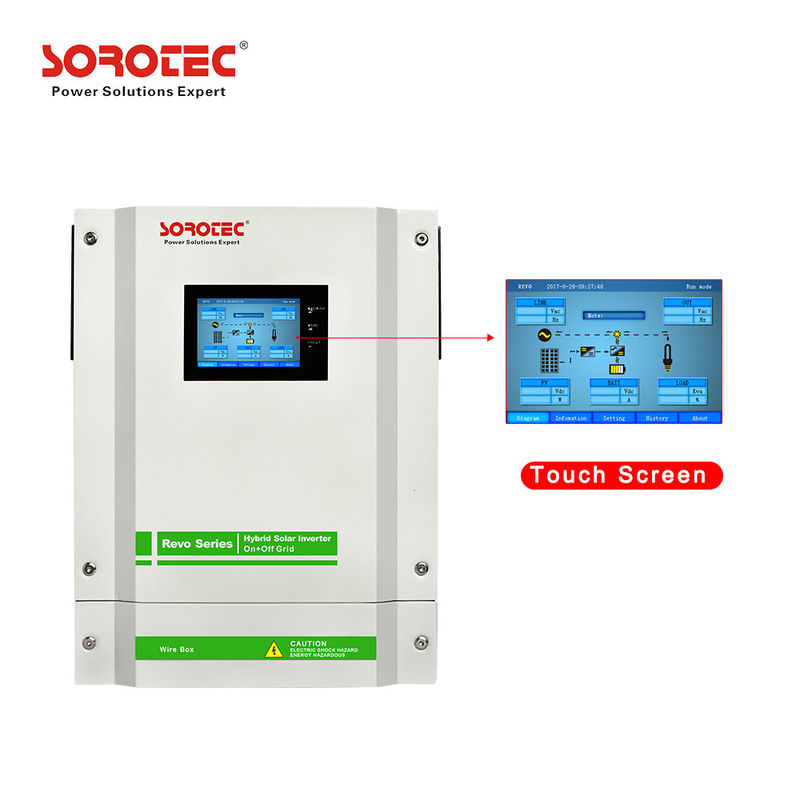 3-5.5Kw On grid Hybrid Solar Inverter with Pure Sine Wave Output Wave Form supplier