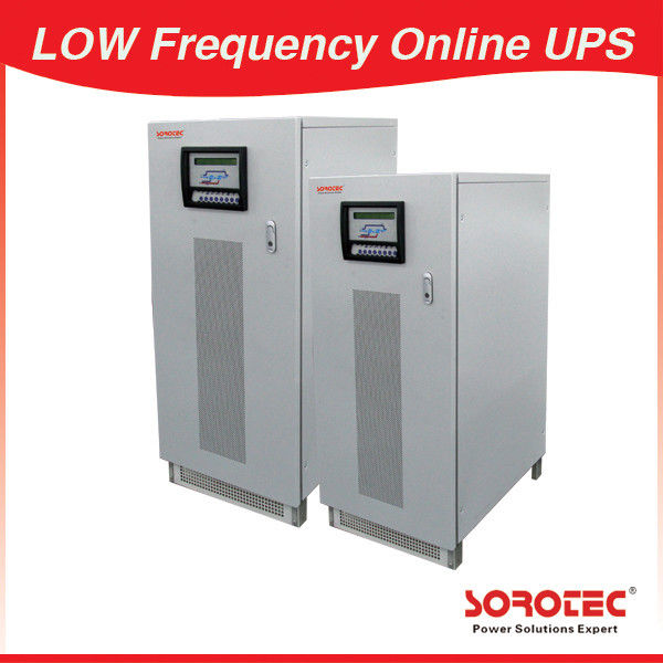 30KVA 24KW High Reliability Low Frequency 3 Phase Online UPS for Data Center supplier