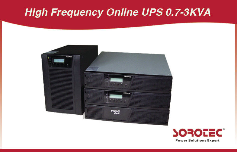 High Reliability Online Rack Mount Ups Power Supply High Frequency 0.7 - 3kva supplier