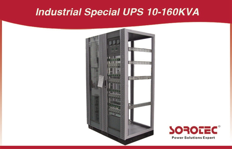 Single Phase 6KVA Industrial Grade UPS with Steady State Load supplier