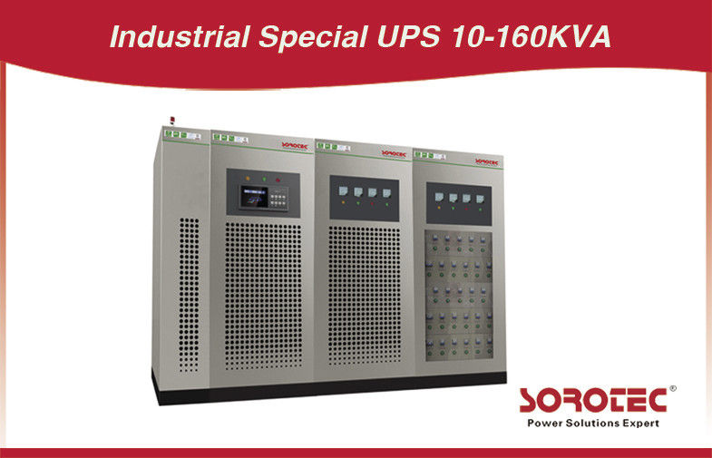 12 Pulse Three Phase Industrial Grade UPS Special Online UPS 100KVA 80KW supplier