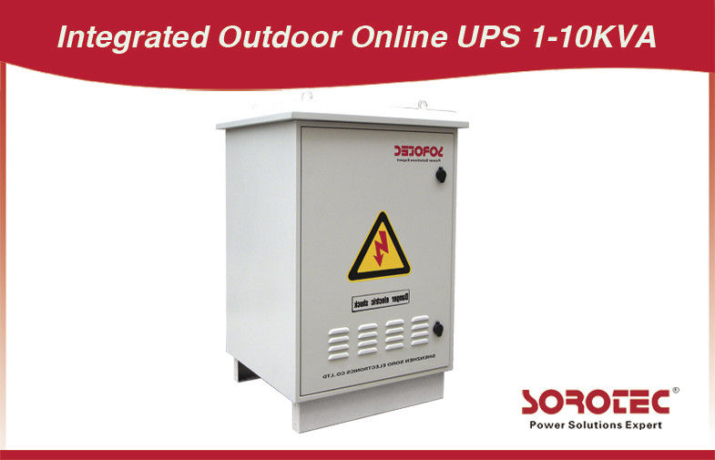 6KVA / 4800W 60HZ Outdoor UPS HW9110E filtration dust inlet with Overload capability supplier