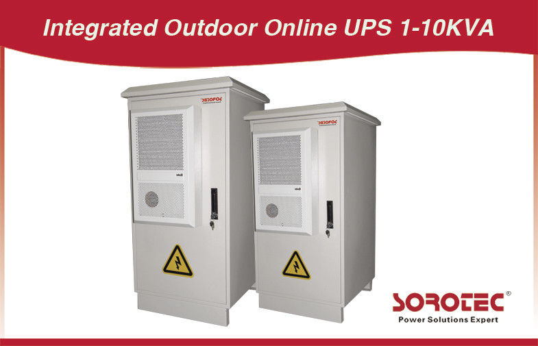 60Hz 0.8 power factor Outdoor UPS HW9110E Series 1KVA / 800W, 1000KVA / 8000W supplier