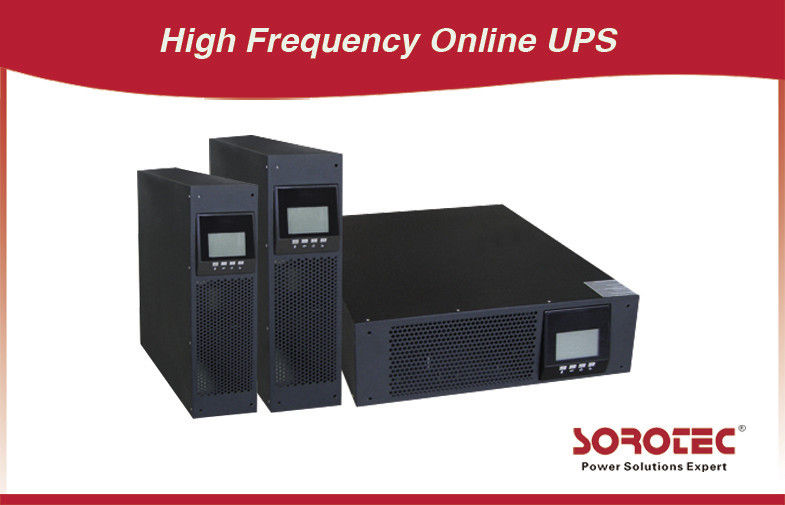 China 295V 8A Dual Conversion non linear Rack Mount UPS battery backup HP9316C 10KR for DC staring factory
