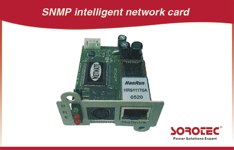 China SNMP Card and AS400 Card for UPS,Apply to remote monitoring UPS in network factory