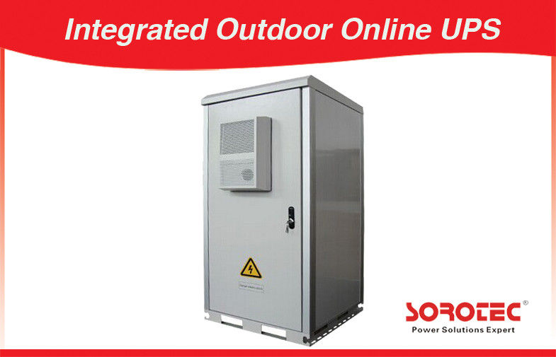 China Mini-Shelter Outdoor Battery Cabinet With Temperature Controlled , Ups Battery Cabinet factory