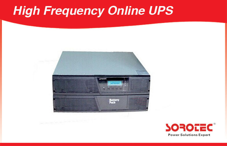 High Frequency Uninterrupted Power Supply UPS Rack Mountable for network supplier