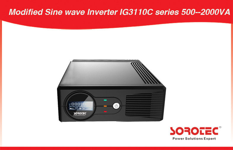 10Amp 12V UPS Power Inverter LCD fault  with silent operation for DVD supplier