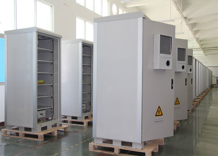 China Ip55 Metal Electrical Outdoor Battery Cabinet , Plant Power Outdoor Cabinet factory