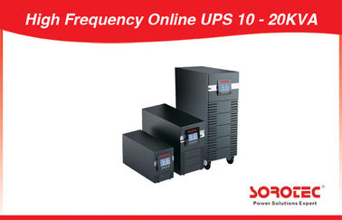 China Telecom High Frequency Online UPS 7000W - 14000W with 3 Ph in / 3 Ph Out distributor