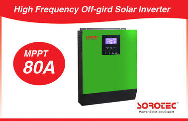 China 1-5KVA 80A Off-Grid Solar Inverter with MPPT Solar Charge Controller distributor