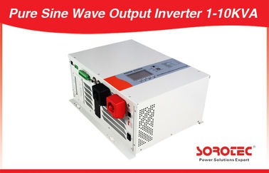 China Long Back up Pure Sine Wave DC-AC Solar Power Inverters with Bypass Voltage 1-12KW distributor