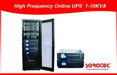 China 10KVA 380VAC Three Phase High Frequency Online UPS Power Supply  with 240VDC Battery distributor