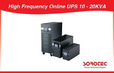 China 20KVA 14KW  380VAC Uninterruptible Power Supply 3 Phase Online UPS for Data Center factory