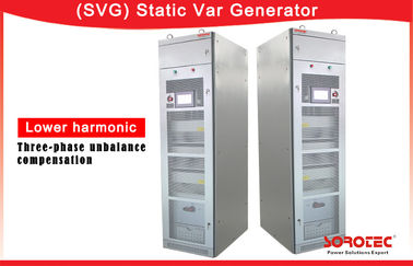 400V 30/50kvar SVG Static Var Generator of Overall Efficiency More Than 97%