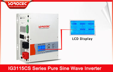 China 12000W 230VAC Solar Power Inverters with LCD Display Full Automatical distributor