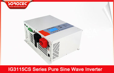 China Pure Sine Wave 230VAC Hybrid Solar Inverter with Battery Type 8000W distributor