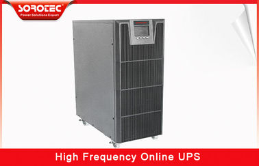 China 3 / 1 Phase 380VAC / 220VAC High Frequency Online UPS with 0.9 Power Factor , 10-20KVA distributor