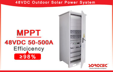 50A Solar 48V DC Power Supply with Flexible MPPT Solar Charge Controller,With remote monitoring system operation