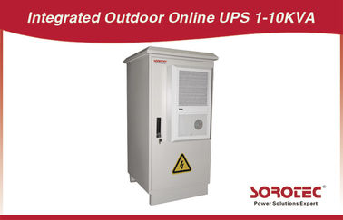 China 2KVA / 1600W SORO dust proof  frequency Outdoor UPS LCD 50HZ 96VDC 8A with sun protection distributor