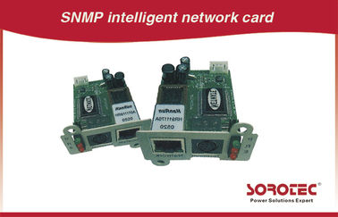 China Remote Monitoring UPS Accessories , SNMP / AS400 Card For UPS distributor