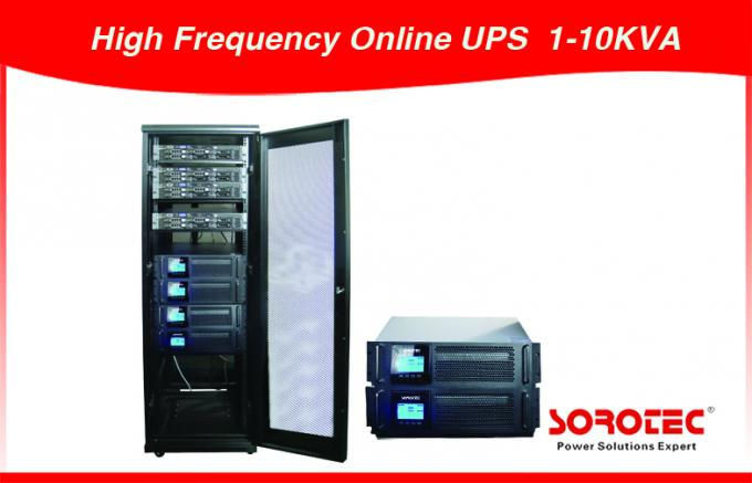 10KVA 380VAC Three Phase High Frequency Online UPS Power Supply  with 240VDC Battery