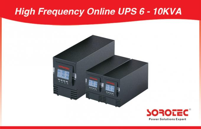 Industry Parallel 3 PCS Uninterrupted Power Supply High Frequency Online UPS 6KVA 4.2KW