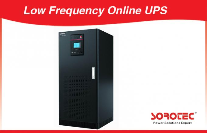 6 Pulse 12 Pulse Low Frequency 3 - Phase Online UPS with Maintain Bypass Switch
