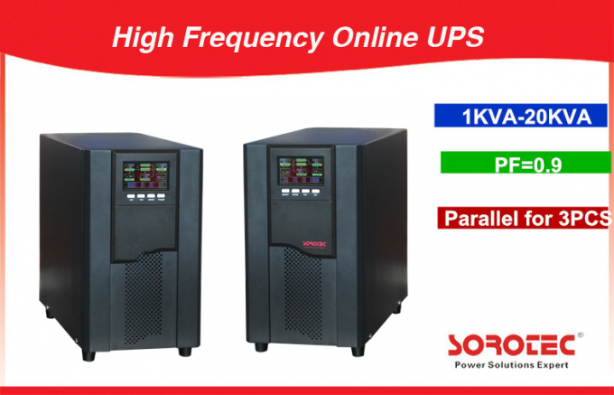 0.9 Power Factor Pure Sine Wave Ups Uninterruptible Power Supply with Flexible Extension Capacity