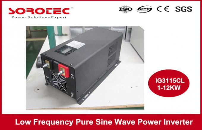 1-6KW Utility / Generator Sine Wave Power Inverter with Remote Control Function , CE ROHS