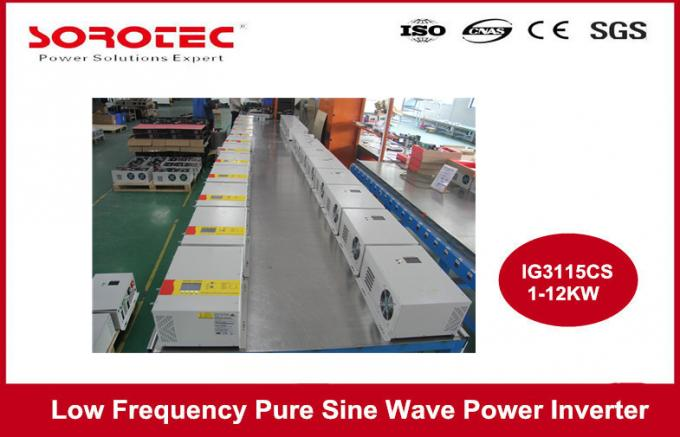 Transformer Type Micro Sine Wave Power Inverter with MPPT Solar Charge Controller