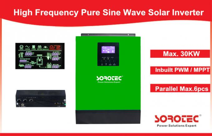 1-5KVA MPPT Solar Controller Pure Sine Wave Inverter for Home Use