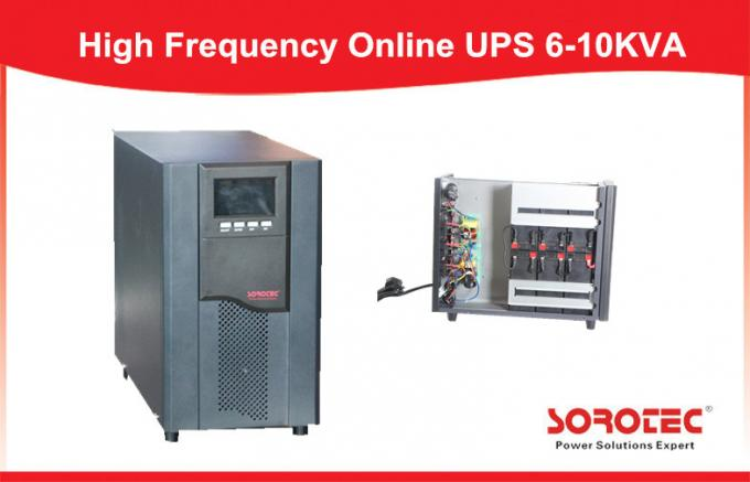 6KVA 5.4KW High Frequency Online UPS Large LCD display and Intelligent Battery Monitors