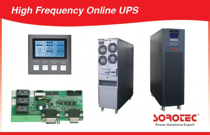 3 Phase True Double Conversion Ups , Sine Wave Online High Frequency Ups for Labs