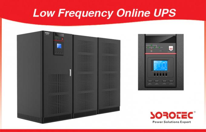 50 / 60HZ 3Ph / in 3 Ph / out Low Frequency Online UPS Used for Date Center