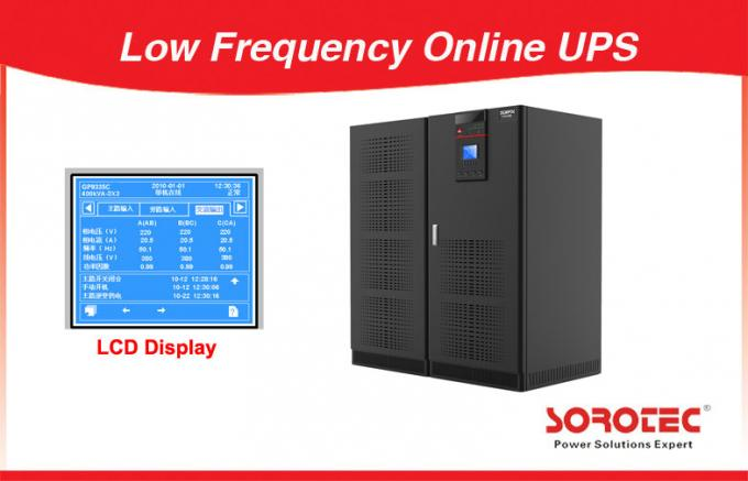 Three Ph / in Three Ph / out Low Frequency Online UPS 10-800KVA GP9335C